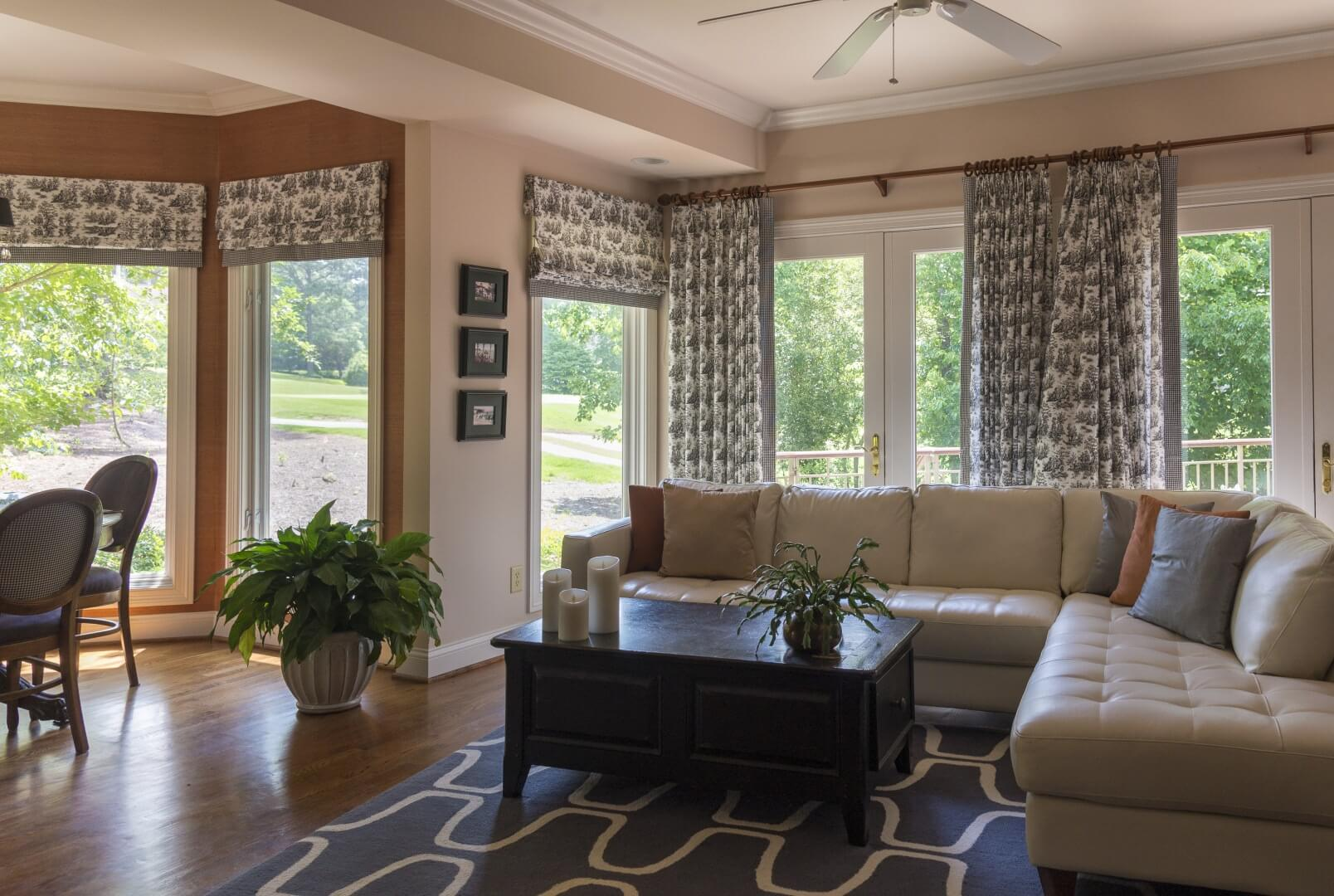 Roman Shades Vs Roller Shades Northshield Blinds And More